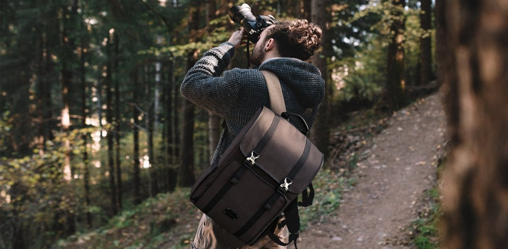 The Bagmsart Rücken Camera Backpack in the Wild
