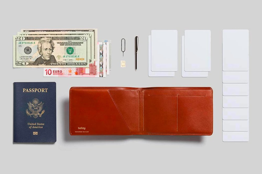 The Bellroy Travel Wallet — Designers Edition