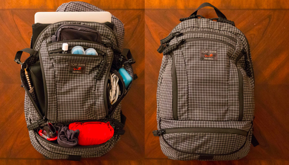 James Clear's Tom Bihn Backpack