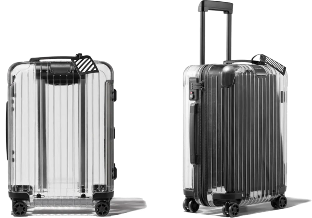Rimowa x Off-White Transparent Suitcase