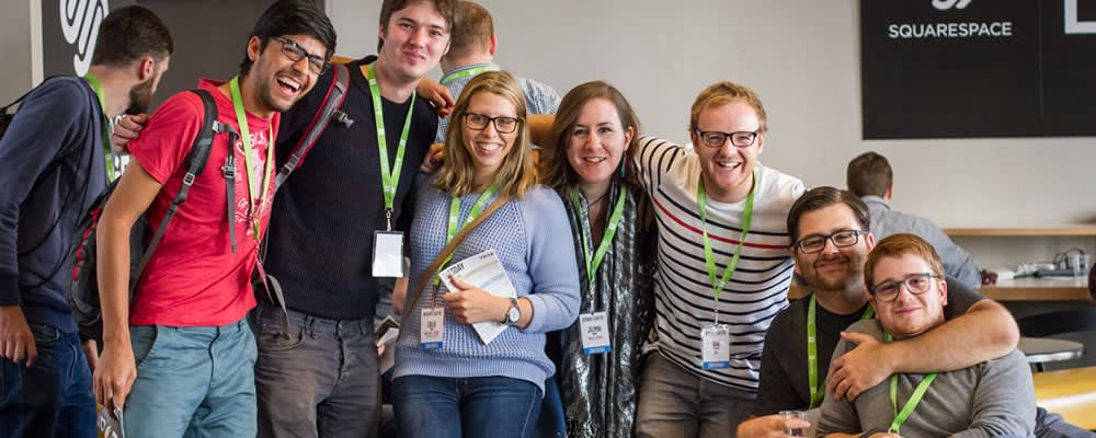 Conferences are a great way to meet new people and connect with old friends