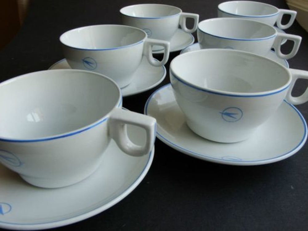 BOAC Cup & Saucer