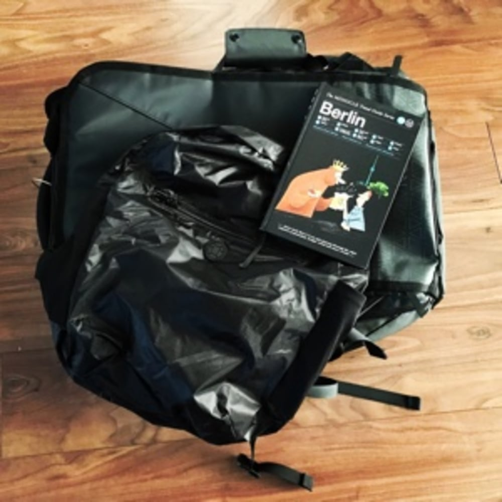 Travel Bags and Guide Books