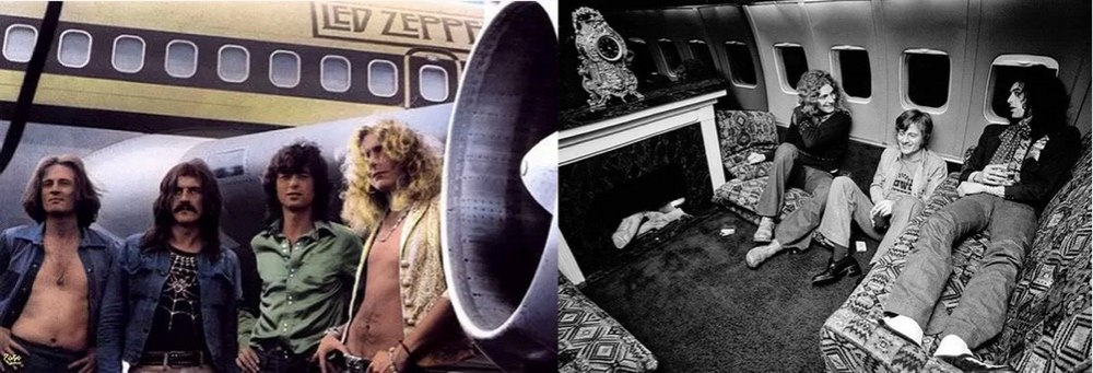 Led Zeppelin's Flying Hotel