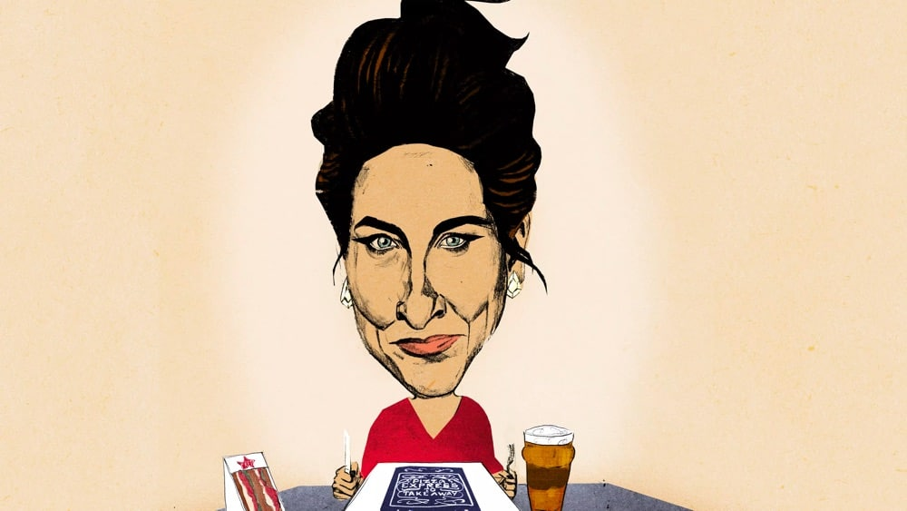 The inimitable Grace Dent