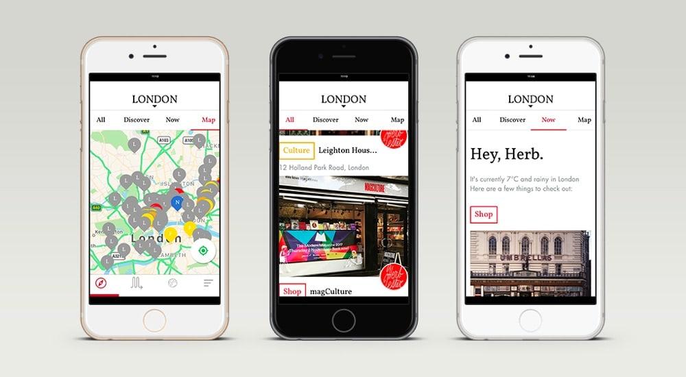 The New Herb Lester London App