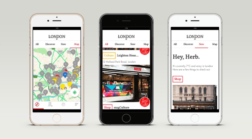 The New Herb Lester London App
