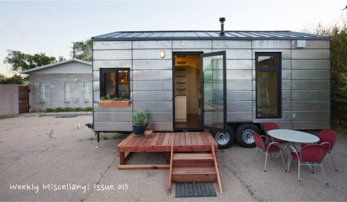 Frequent Flyers, Backstage Passes, Tiny Houses and more