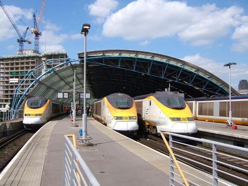 The Eurostar at Waterloo