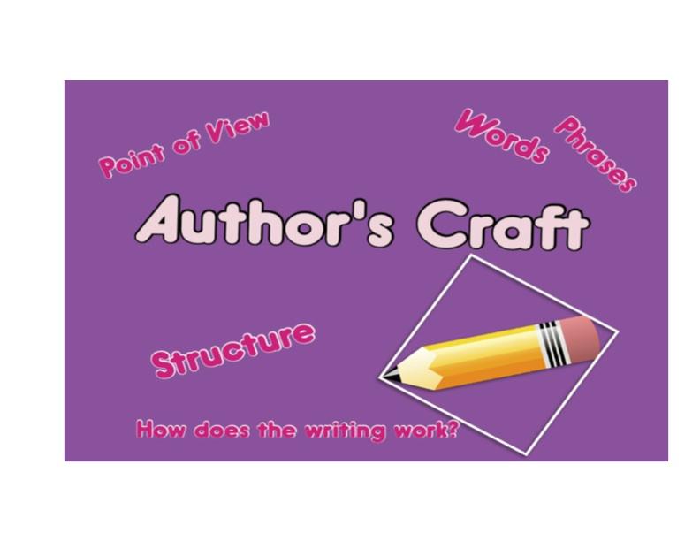 Teaching Students to Analyze Author's Craft - Kelly Harmon