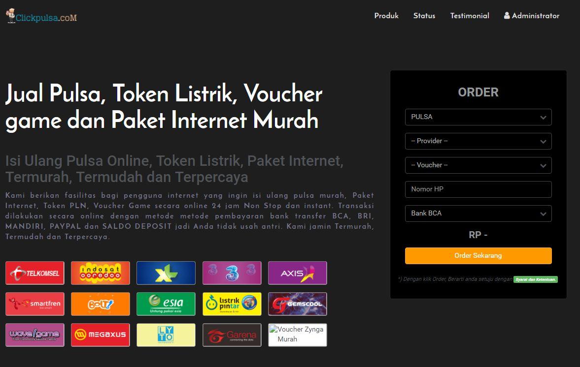 Jual Pulsa Token Pln Paket Internet Dan Voucher Game Detikforum Smartpay Listrik Prabayar Rp 50000 Click
