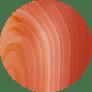 Orange Banded Agate