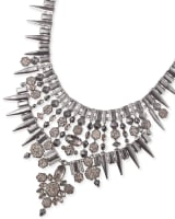 Seraphina Statement Necklace with Drusy