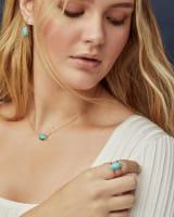 Lee Sterling Silver Drop Earrings in Turquoise