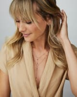 Watson Y Necklace in Gold