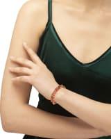 Reece Gold Wrap Bracelet in Goldstone Mix