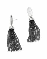Marin Statement Earrings in Silver
