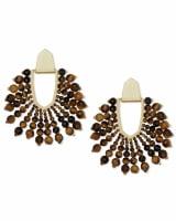 Diane Beaded Statement Earrings