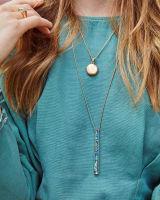 Baleigh Long Pendant Necklace