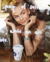 Mavis Cuff Bracelet in Bright Silver