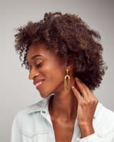 Ryder Statement Earrings in Vintage Gold