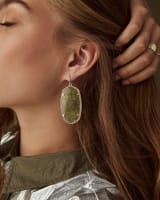 Danielle Statement Earrings in Gold