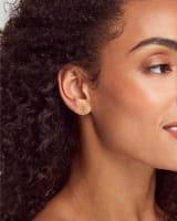 Dira Stud Earrings in 18k Gold Vermeil