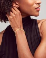 Danielle Link Bracelet in 18k Gold Vermeil