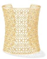 Jude Cuff Bracelet in Gold