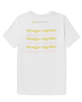 Women's Stronger Together T-Shirt In Yellow