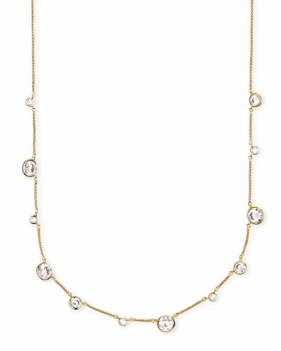 Clementine Choker Necklace in Gold