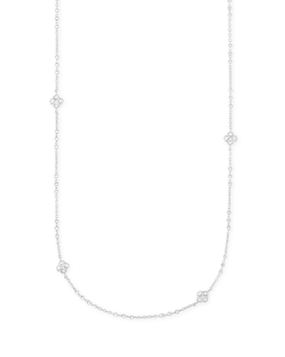 Rue Long Strand Necklace In Silver