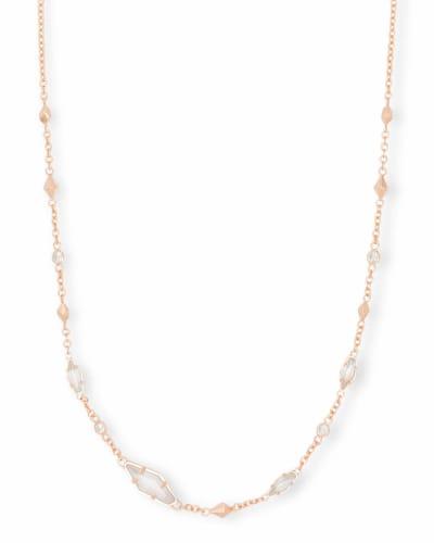 Debra Choker Necklace in Rose Gold