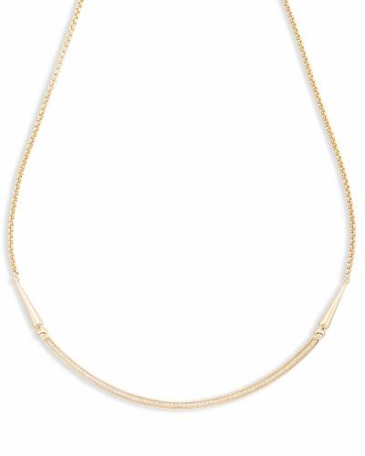 Scottie Choker Necklace in Gold