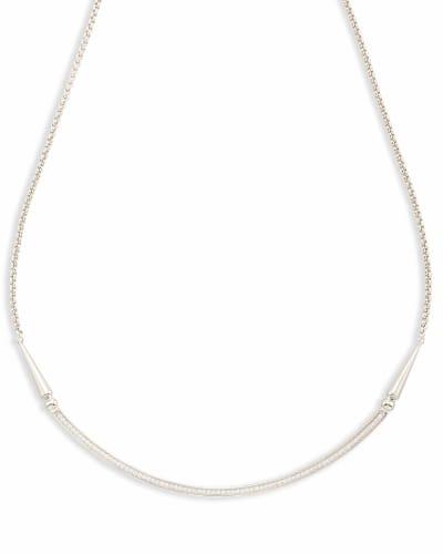 Scottie Choker Necklace in Silver