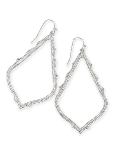 Sophee Drop Earrings in Silver