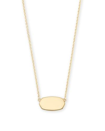 Elisa Pendant Necklace in 18k Gold Vermeil