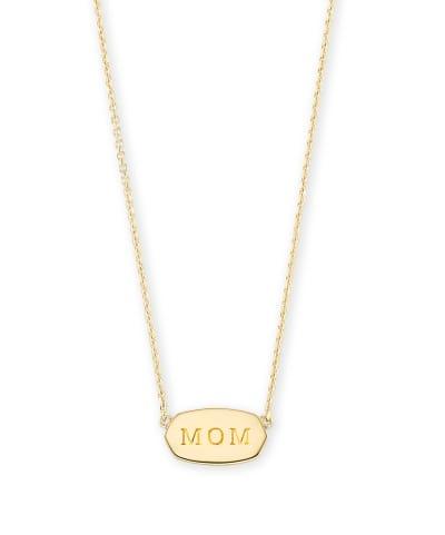 Mom Elisa Necklace in Gold Vermeil | Kendra Scott
