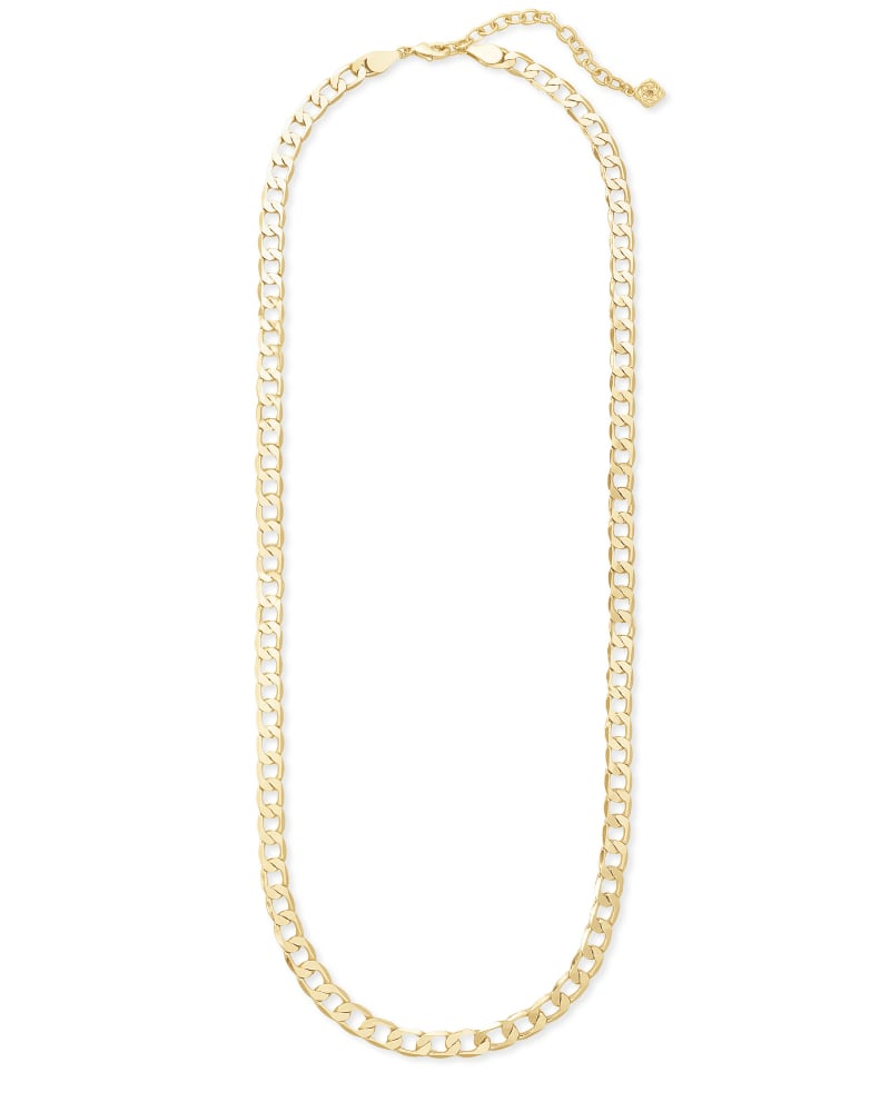 Ronnie Link Chain Necklace in Gold