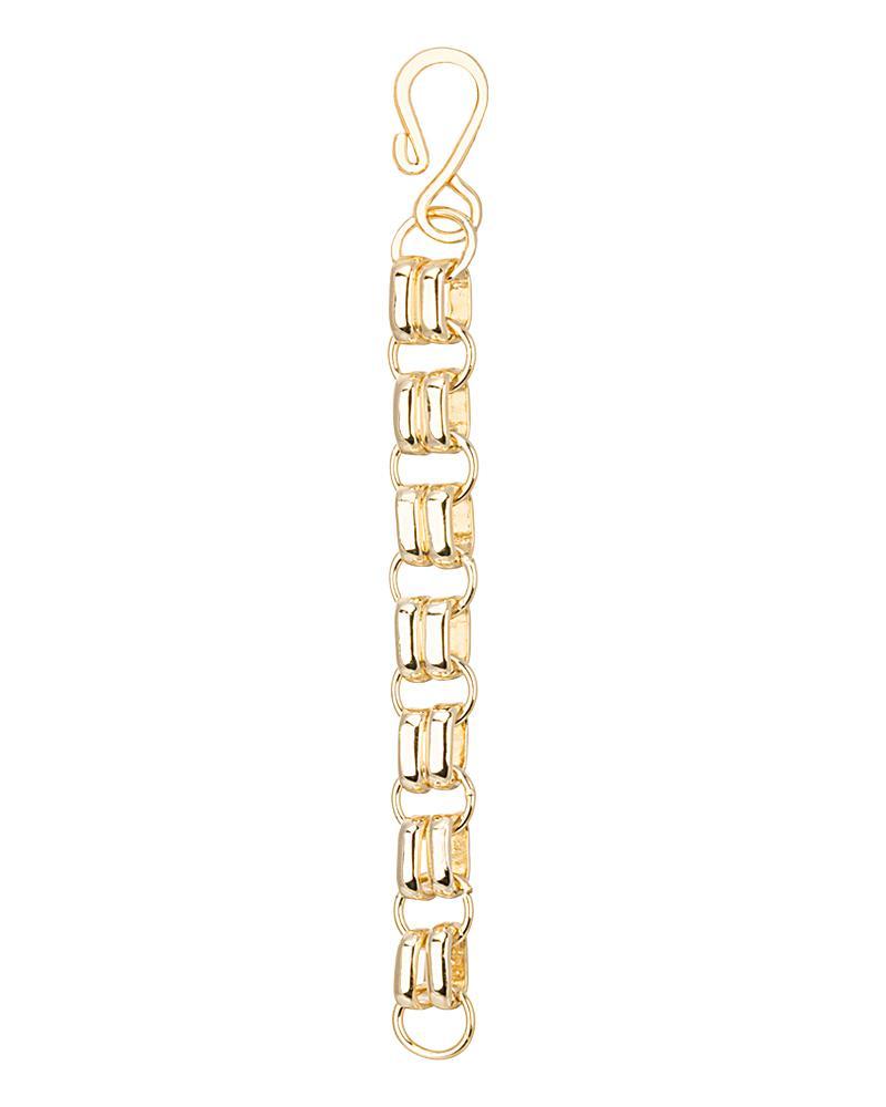 4 Inch Gold Hook Necklace Extender