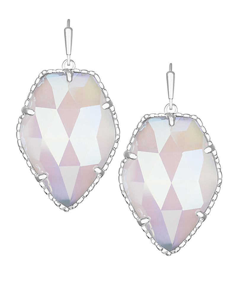 Corley Drop Earrings in Silver