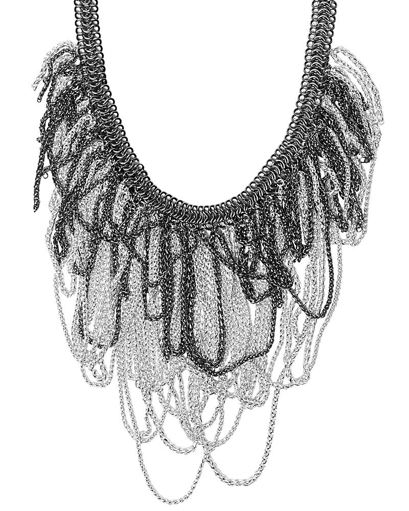 Margot Necklace in Silver