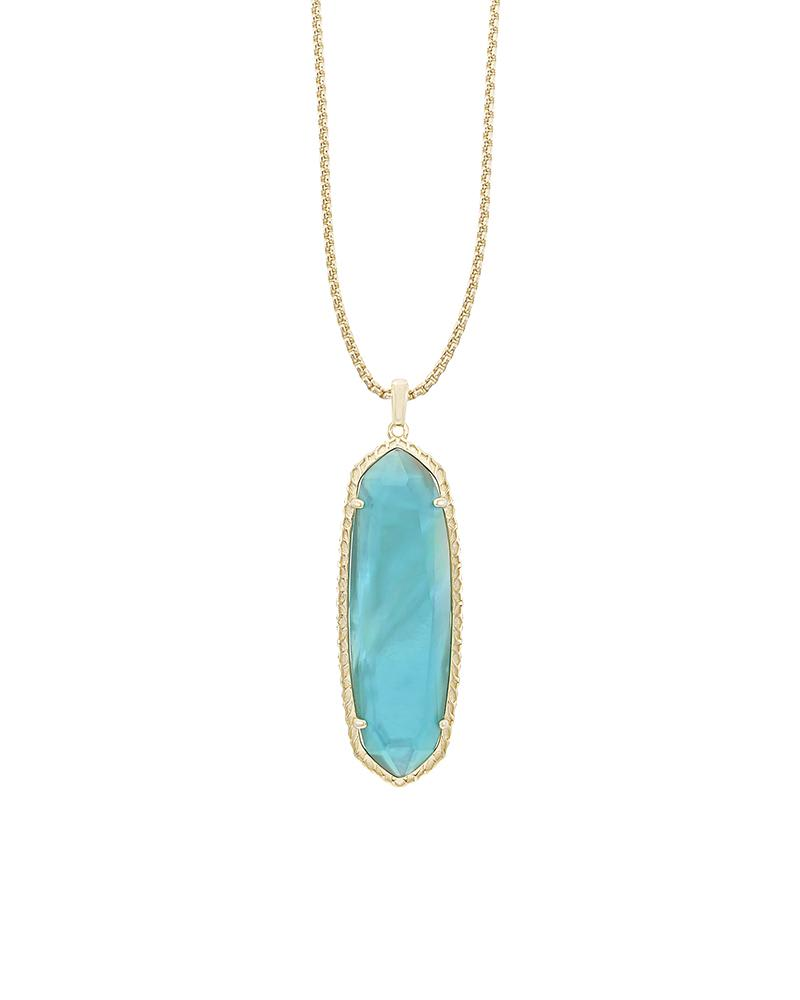 Layden Necklace in London Blue Illusion
