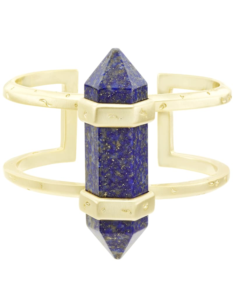 Shelli Cuff Bracelet in Lapis