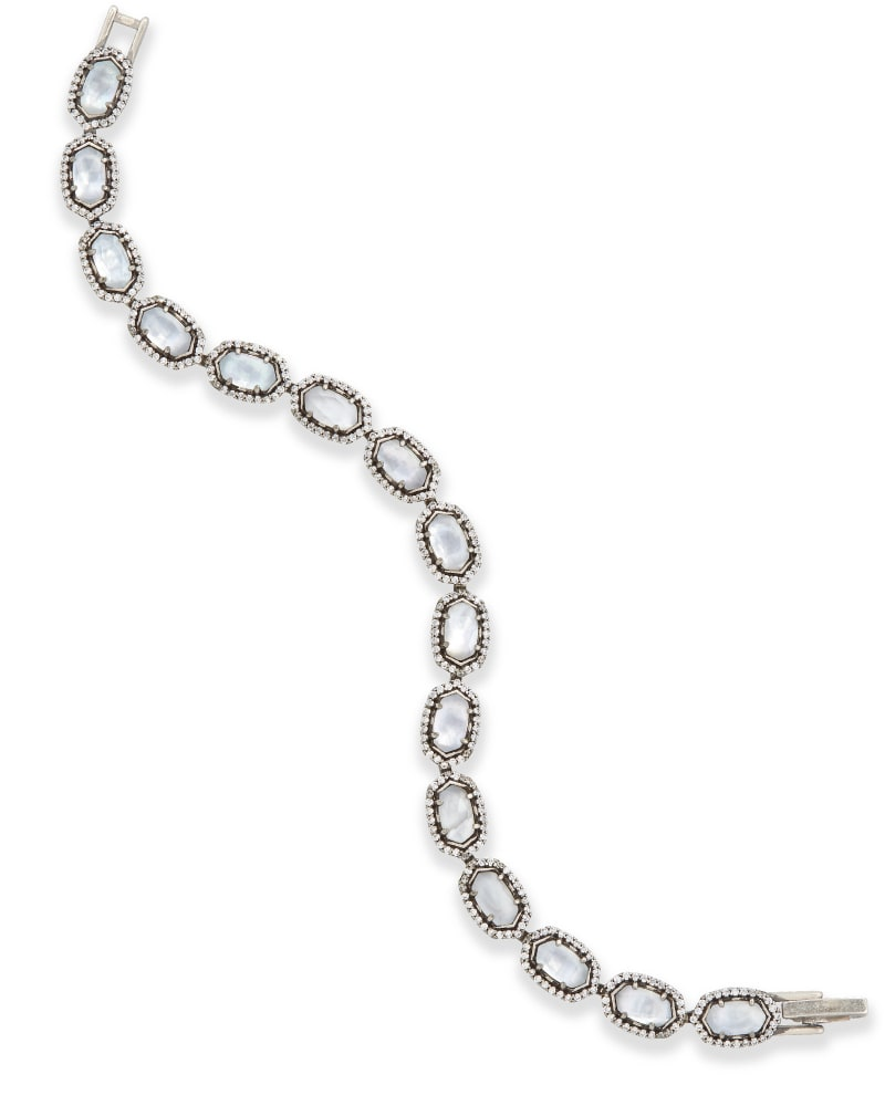 Cole Bracelet in Antique Silver