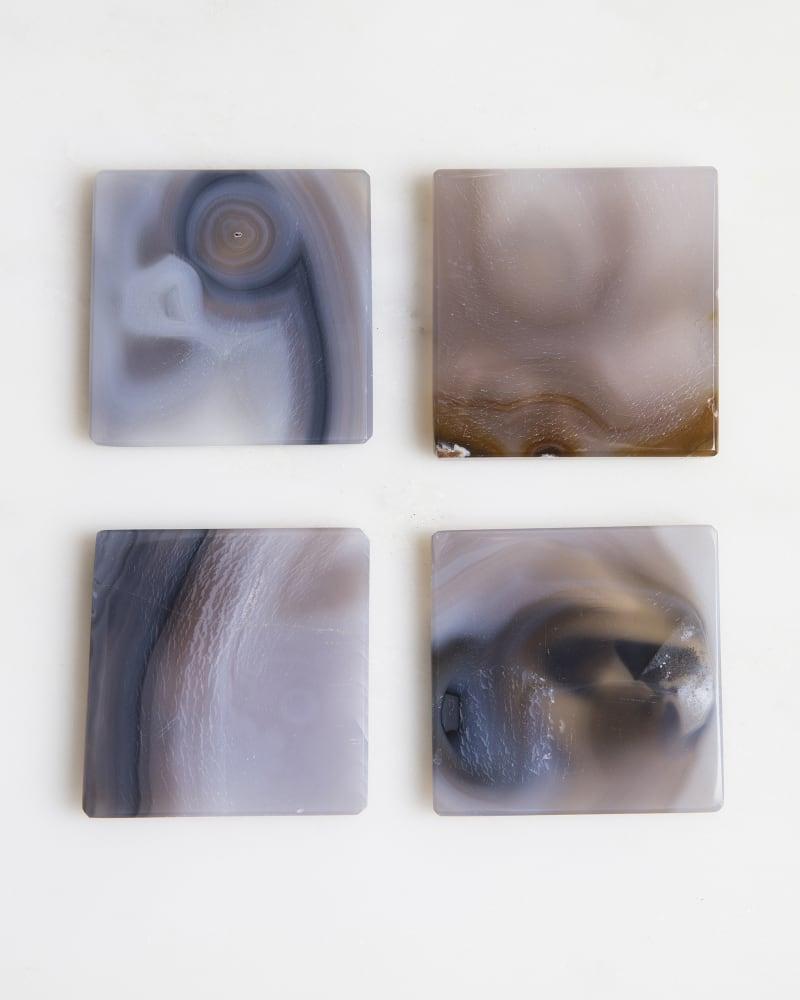 4x4 Photo Frame in Tan Agate
