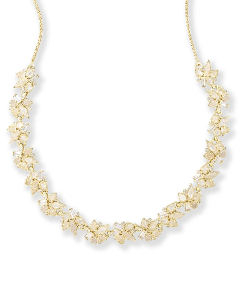 Andrina Choker Necklace in Gold