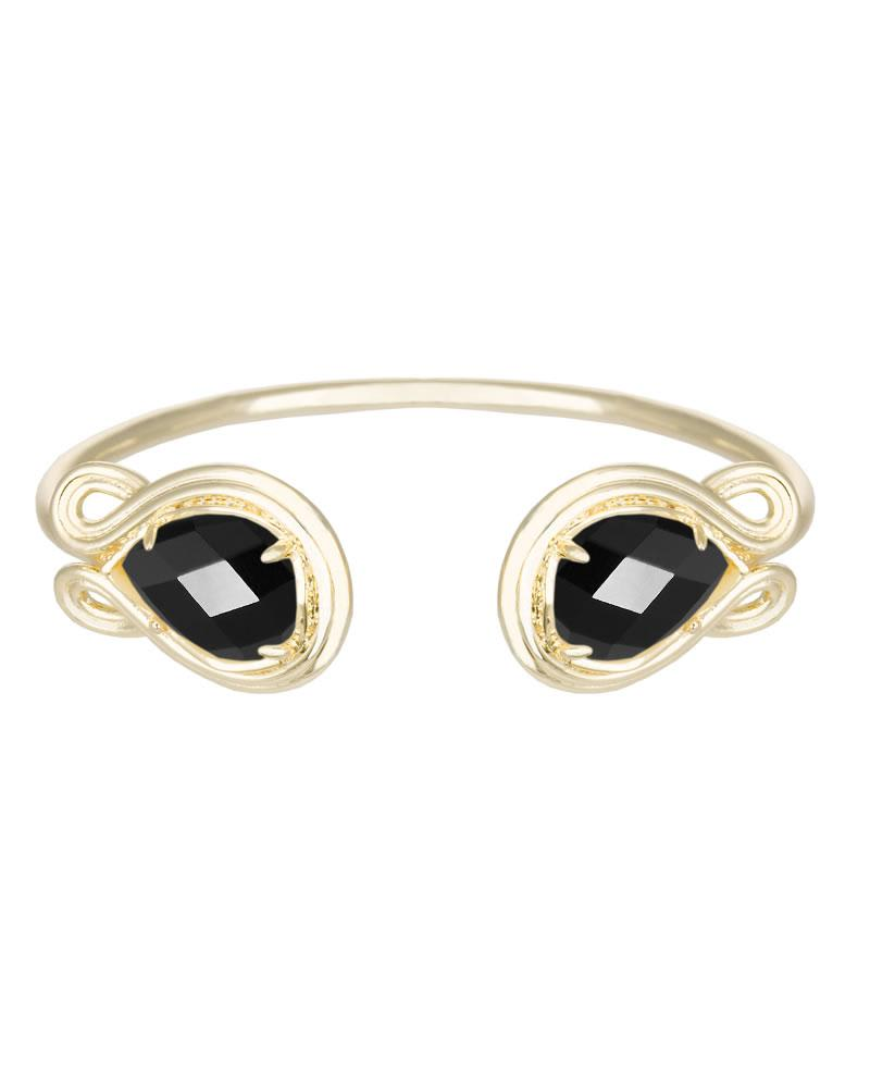 Andy Pinch Cuff Bracelet in Gold