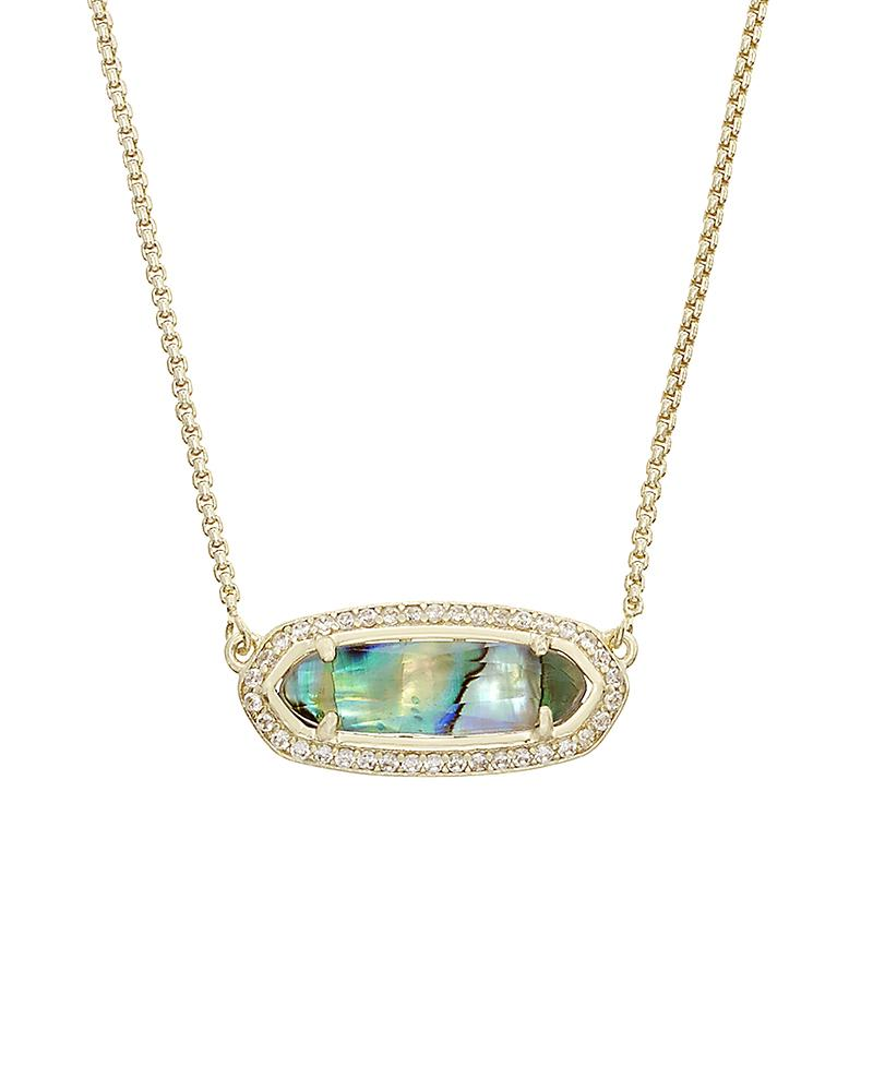 Annika Pendant Necklace in Abalone Shell