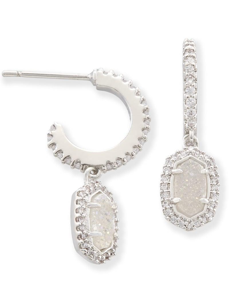 Cale Hoop Earrings in Silver